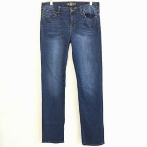 Lucky Brand Brooke straight stretch jeans 8/29